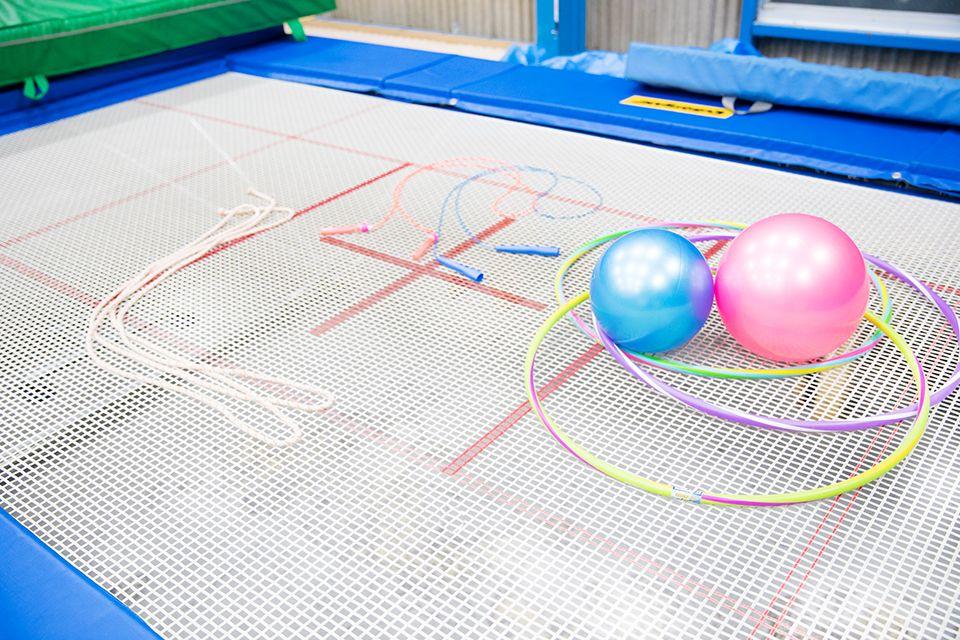 ボール、フラフープ、大繩