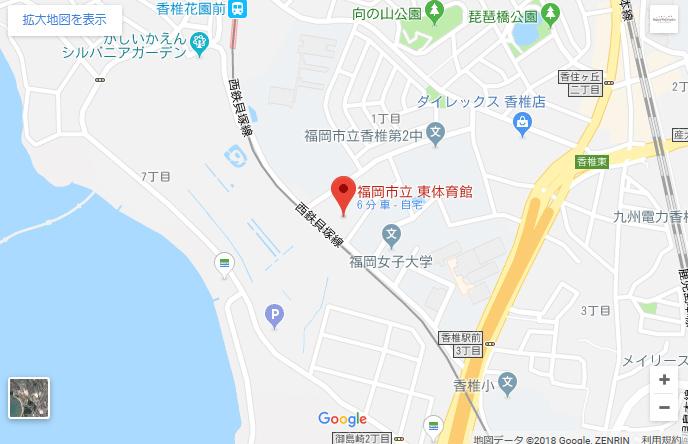 東体育館地図